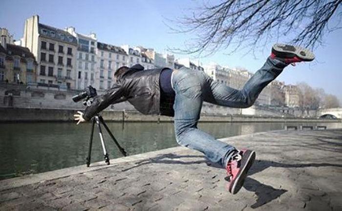 Фотографии, сделанные за секунду до неизбежности (40 фото)