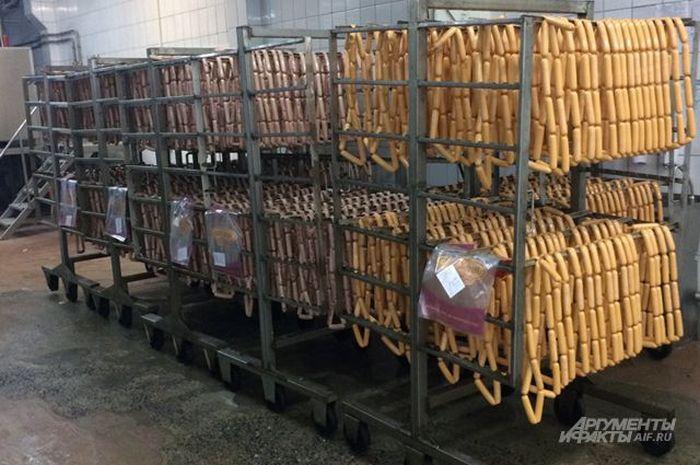 Где и как производят сосиски (7 фото)