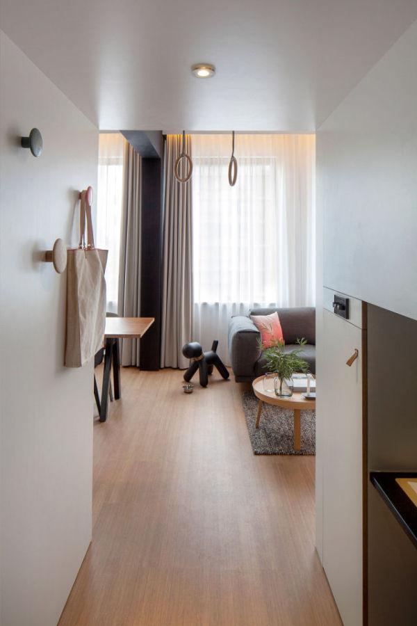 Уютный гостевой домик на площади 24 квадратных метра (14 фото)