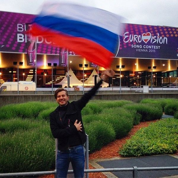 Полина Гагарина заняла второе место на Евровидении 2015 (3 фото)