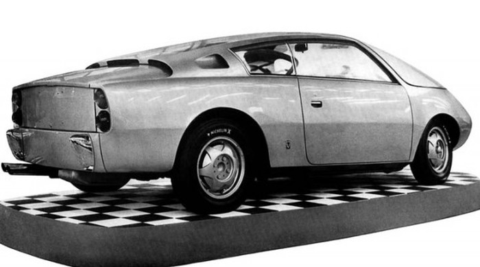 Концепт-кары компании FIAT, которые никогда не встали на конвейер (44 фото)