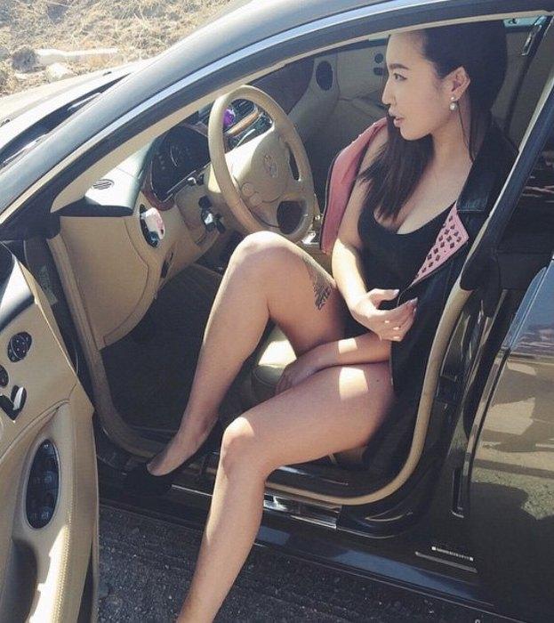 Монгольские девушки в социальных сетях (46 фото)