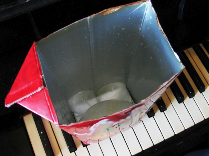 Необычная находка на дне коробки из-под сока (7 фото)