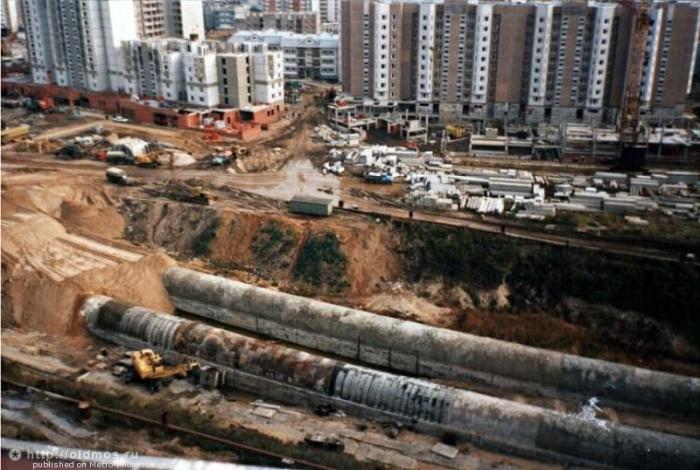 Какой была строящаяся Москва в 1996 году (70 фото)