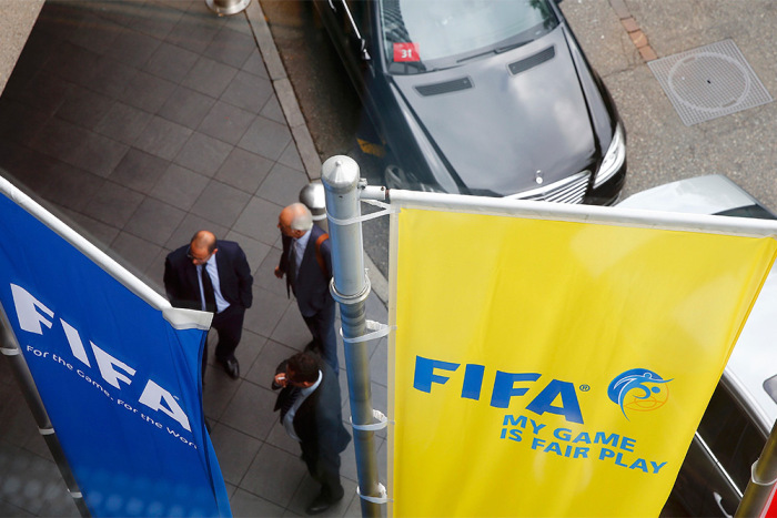 В штаб-квартире FIFA прошла серия арестов (5 фото)