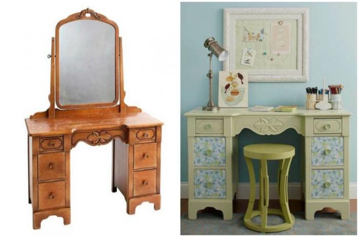 Во что можно превратить старую мебель (15 фото)