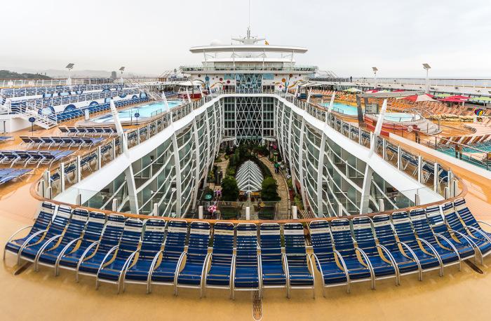 Allure of the Seas – самый большой круизный лайнер в мире (43 фото)
