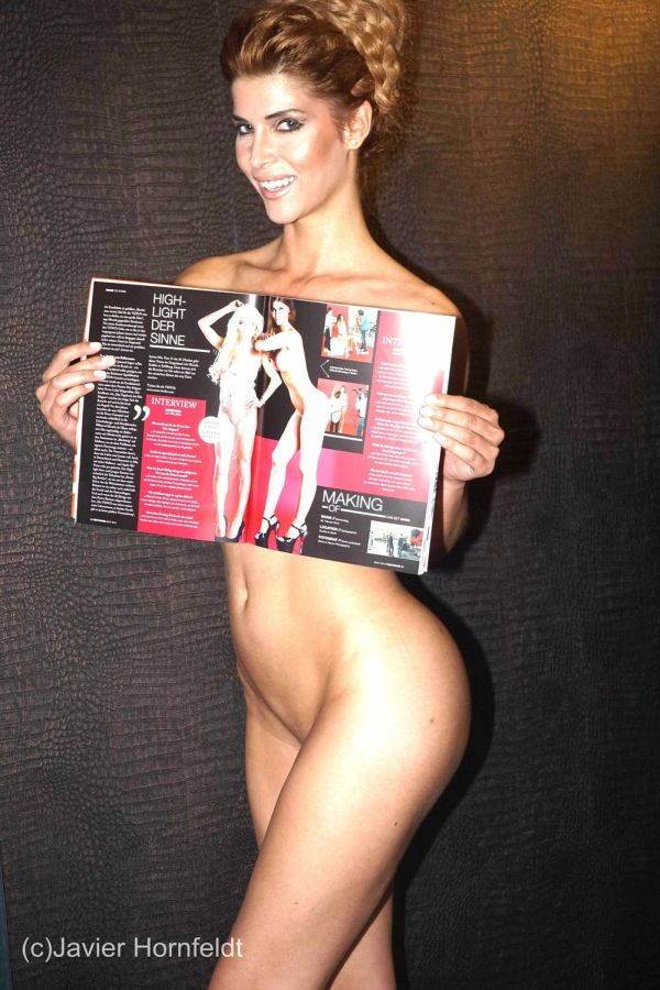 Микаэла Шефер обнажилась для журнала Penthouse. НЮ (7 фото)