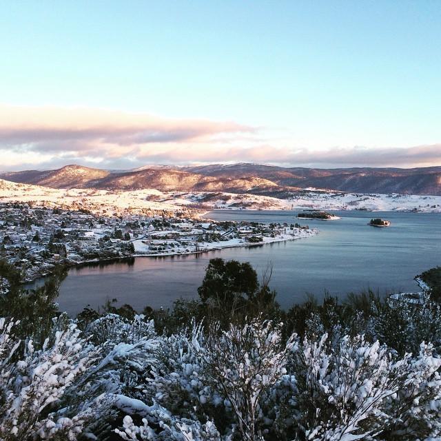 В Австралии прошел сильный снегопад (16 фото)