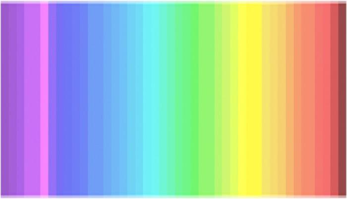 Менее четверти всех людей способны увидеть все оттенки в этом спектре (2 фото)