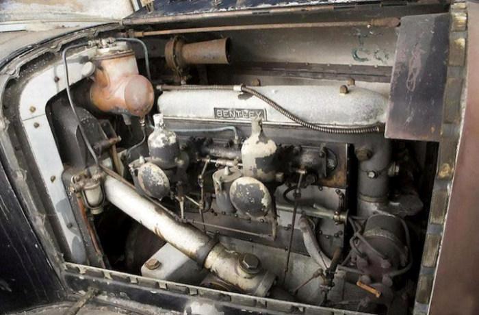 Британец нашел забытый Bentley 4½, который оценили в 450 000 долларов (6 фото)