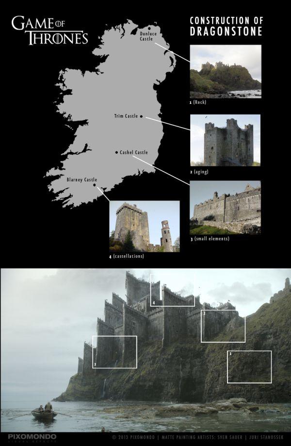 Визуальные эффекты сериала «Игра престолов» (10 фото + видео)
