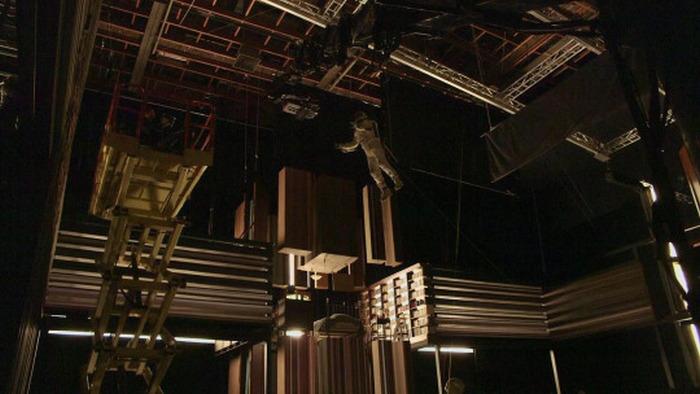 Съемки известной сцены из фильма «Интерстеллар» (5 фото + видео)