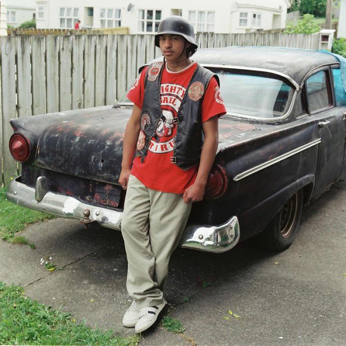 Члены банды Монгрел Моб поучаствовали в небольшом фотосете (18 фото)