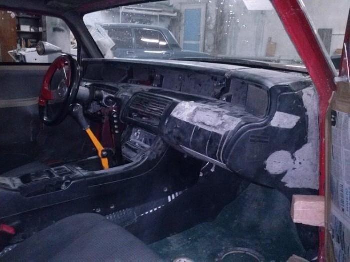 Уникальный пикап на базе ВАЗ-2102 (10 фото)