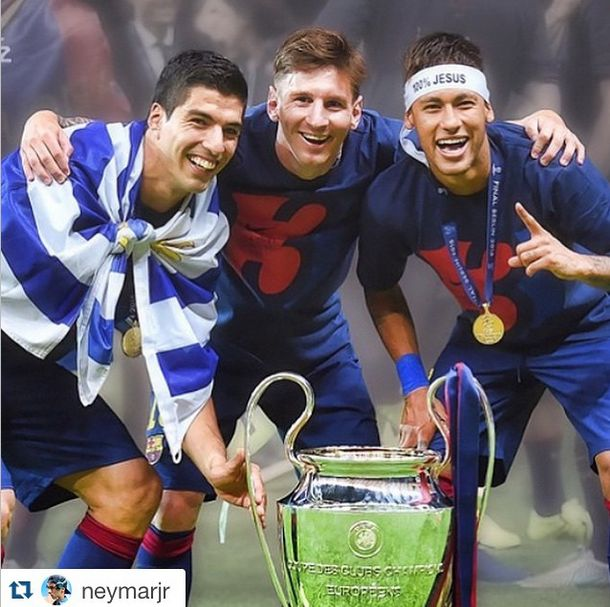 «Барселона» в пятый раз выиграла Лигу чемпионов (32 фото + 2 видео)