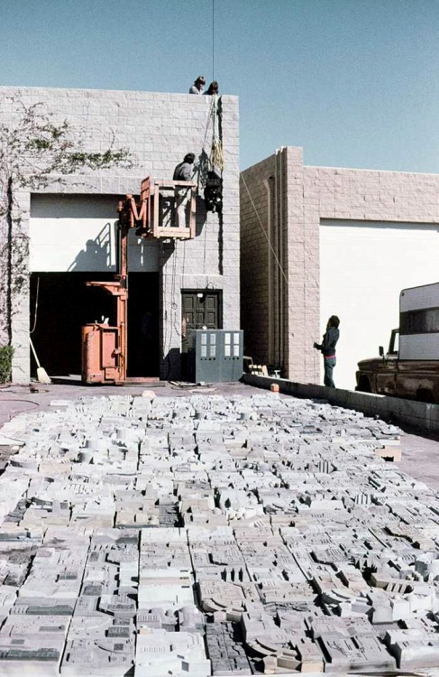 Съемочная площадка «Звездных войн» (10 фото)