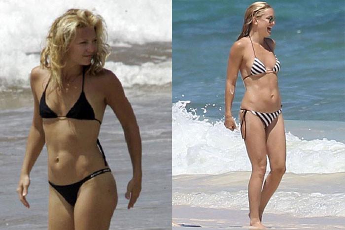 Знаменитые актрисы в купальниках (25 фото)