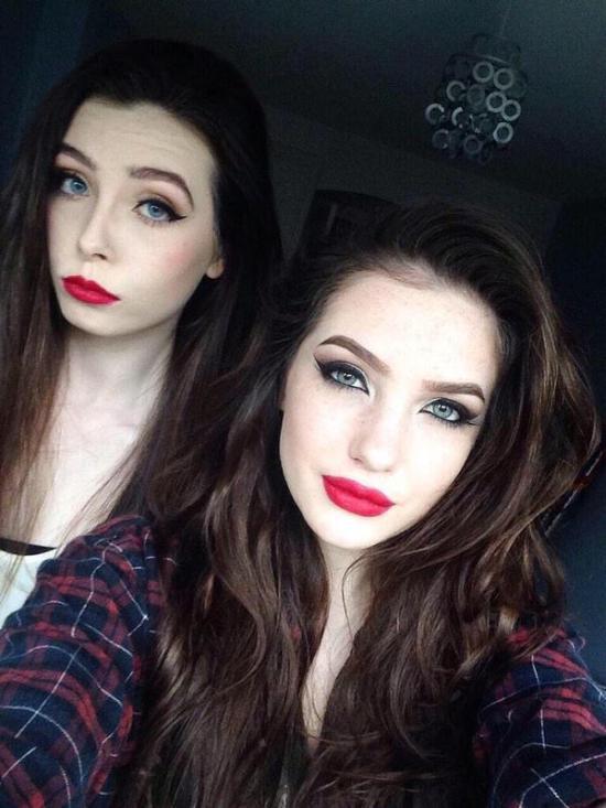 На что способен макияж (2 фото)