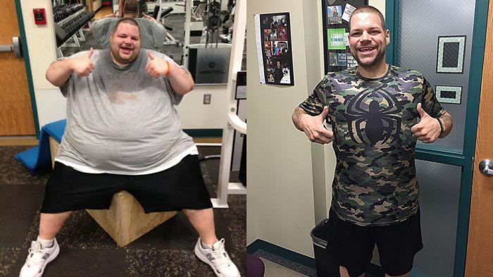Парень сбросил более 200 килограмм лишнего веса (6 фото + видео)