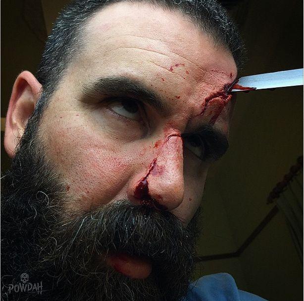 Impresionantes efectos de maquillaje de pelicula de terror