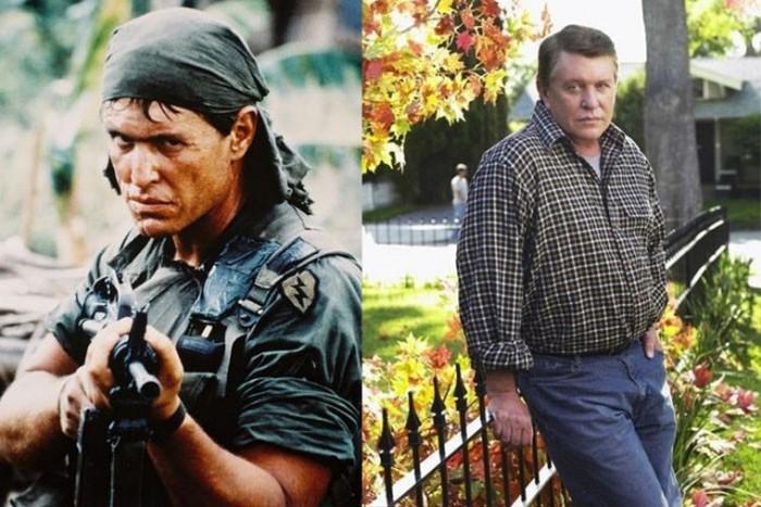 Герои старых боевиков: тогда и сейчас  (32 фото)