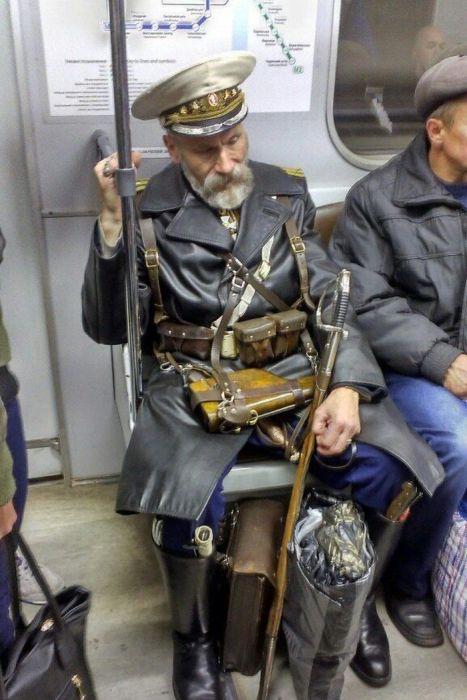 Фото, которые возможно было сделать только в России. Часть 6 (44 фото)