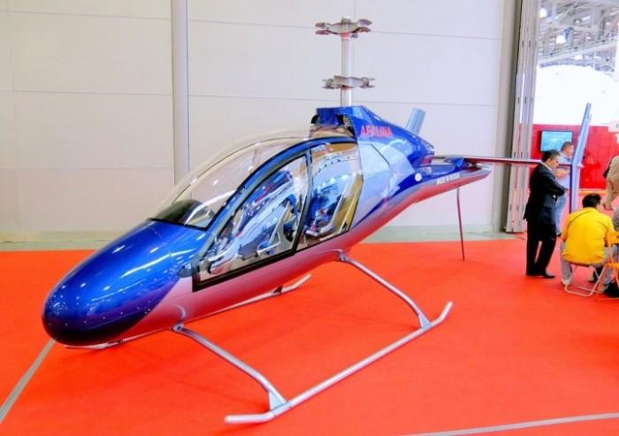 В России разработали легкий многоцелевой вертолет «Афалина», работающий на обычном бензине (4 фото)