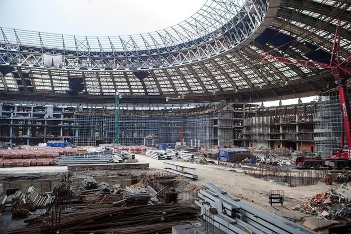 Как происходит подготовка к Чемпионату мира по футболу (54 фото)