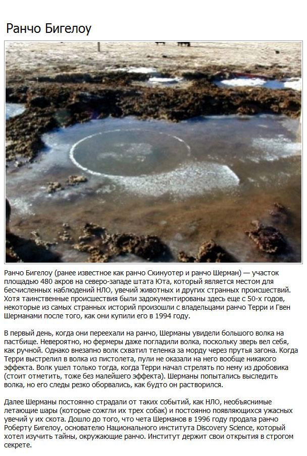 Загадочные места, обладающие той же репутацией, что и Бермудский треугольник (10 фото)