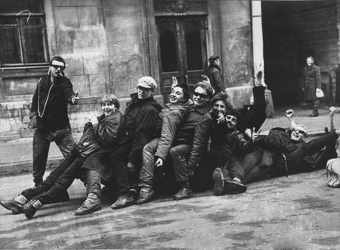 Неформалы Советского Союза (45 фото)
