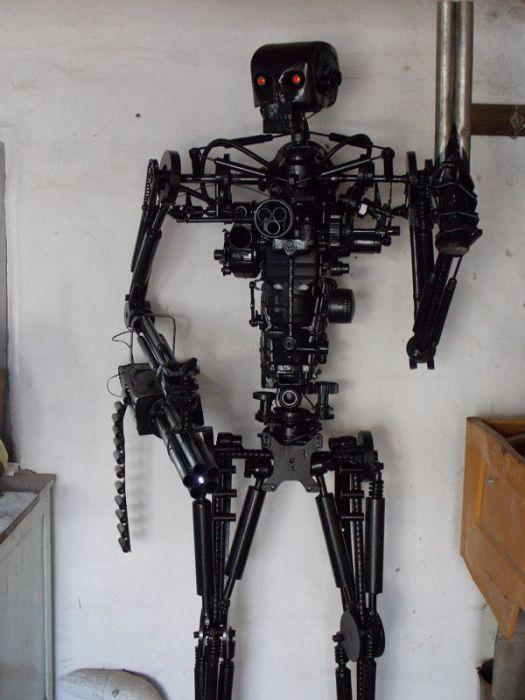Самодельный эндосклет из ненужного металлолома (15 фото)