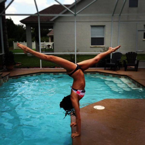 Девушки, которые не могут жить без спорта (52 фото)
