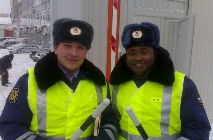 Прикольные фотографии русских негров (30 фото)