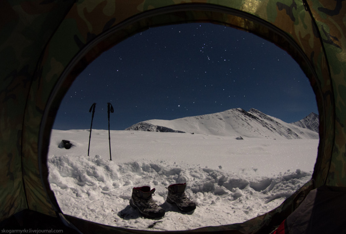 Покорение алтайского перевала Кара-Тюрек (62 фото)