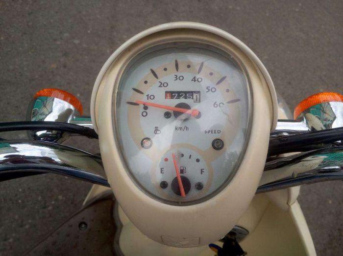 Причина продажи скутера (5 фото)