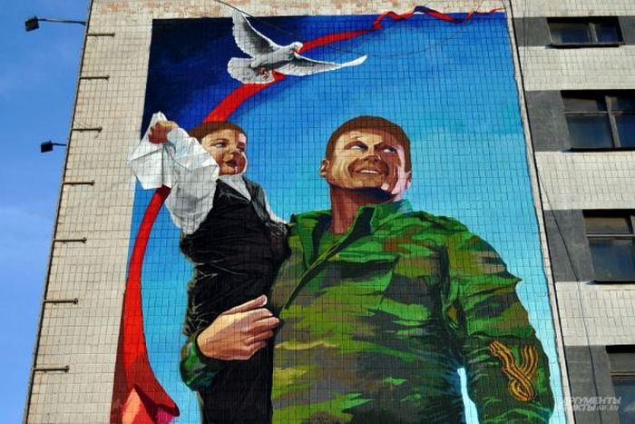 Контрасты военного Донецка (18 фото)