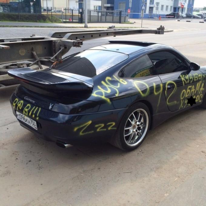 Porsche Carrera в «нецензурном тюнинге» (2 фото)