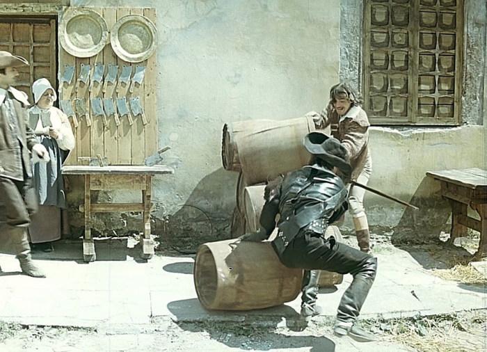 Фото со съемочных площадок любимых отечественных фильмов (46 фото)