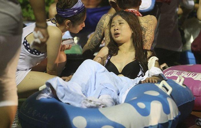 Жертвами пожара и взрыва на дискотеке в Тайване стали более 500 человек (12 фото + видео)
