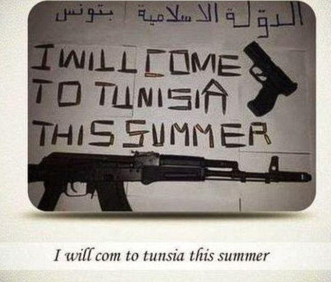 Кровавый теракт в Тунисе потряс весь мир (5 фото + 2 видео)