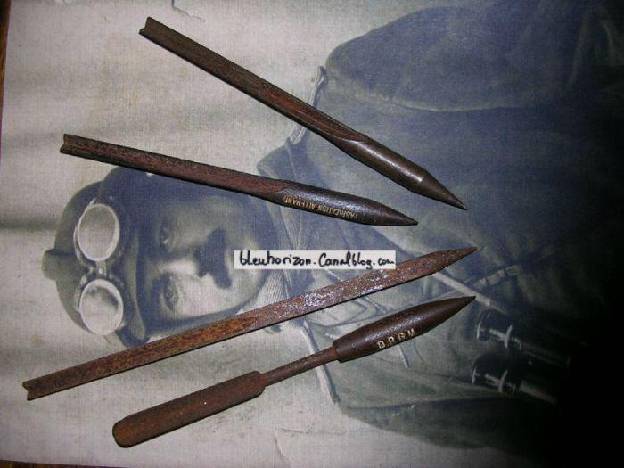 Флешетта - малоизвестное оружие времен Первой мировой войны (10 фото)
