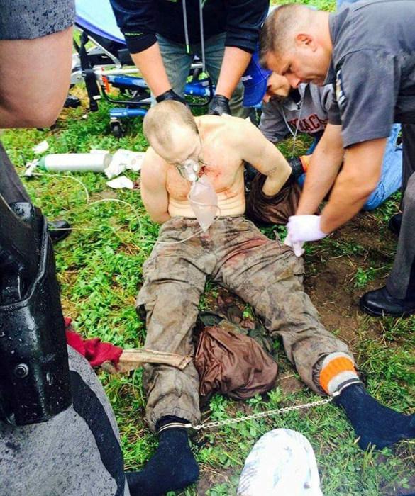 Американская полиция задержала беглого заключенного Дэвида Свита (7 фото)