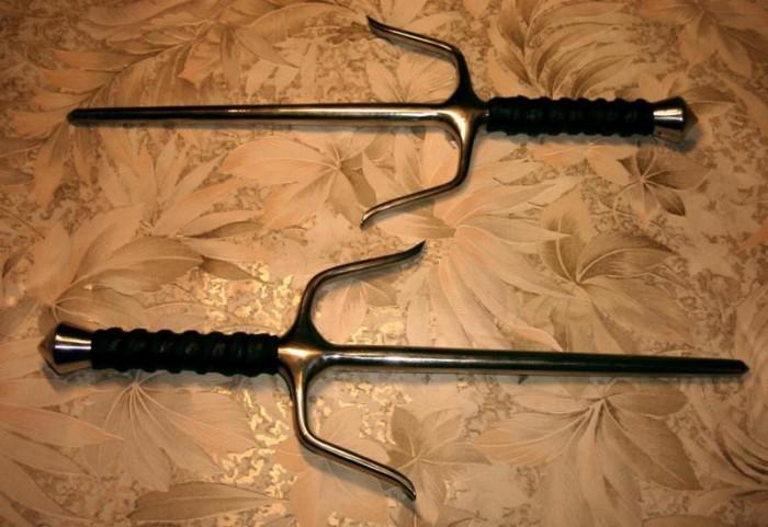 Необычное и малоизвестное оружие древности (23 фото)