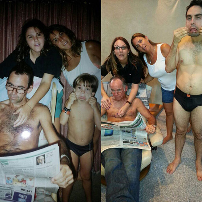 Фотографии из разряда «тогда и сейчас» (31 фото)