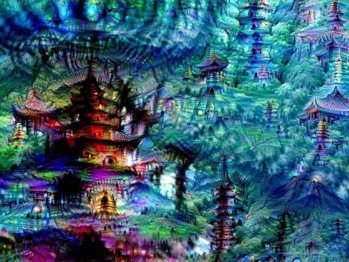 Психоделические рисунки искусственного интеллекта (10 фото)