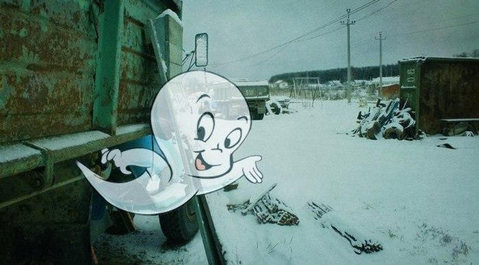 Грустная реальность в нереальных картинках (40 картинок)