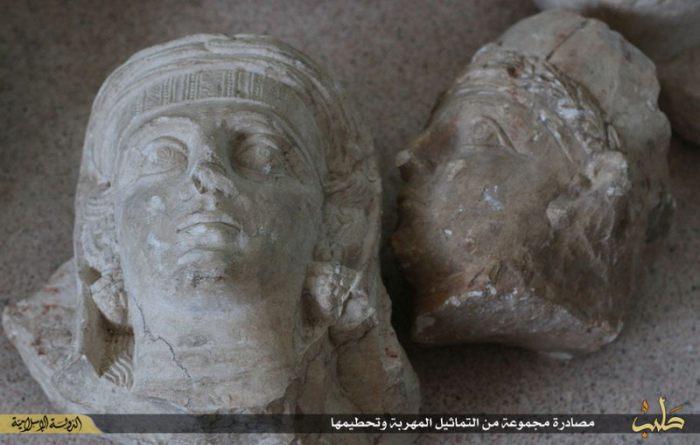 ИГИЛ уничтожил древние памятники в оккупированной Пальмире (13 фото)