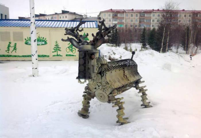 Фото, которые возможно было сделать только в России. Часть 7 (45 фото)