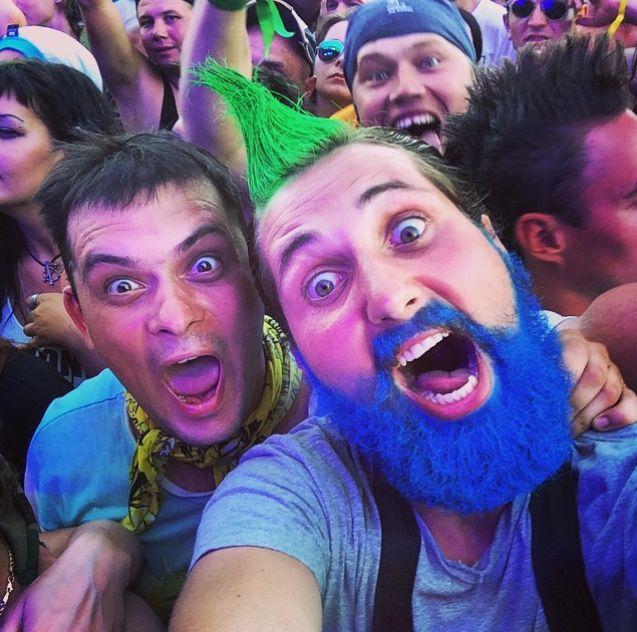 Фотоотчет с рок-фестиваля «Нашествие-2015» (40 фото)